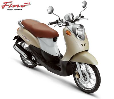 Fino scooter retro design from Yamaha