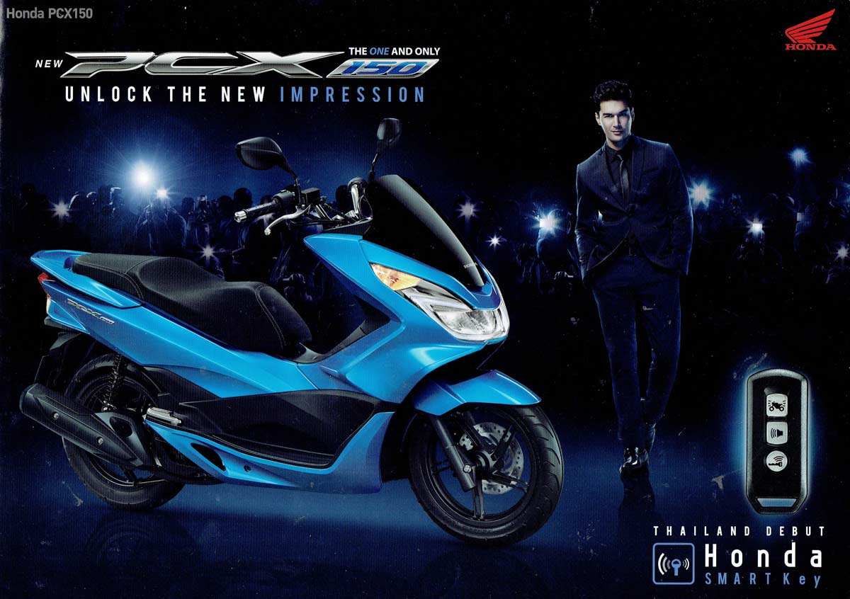 150cc Honda PCX Model